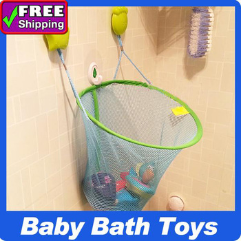 2013 New Arrival  !  Bebeconfort  Bath Toys Storage Net Super Suction Cup Large Capacity Baby Toy