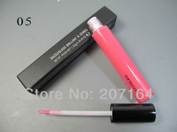 5pcs/lot High quality professional MC brand makeup lipgloss , colorful lipgloss plump lipgloss 15 color 1.92g free shipping