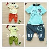 Free Shipping&4pcs/lot!dresses new fashion 2013 cotton newborn toddler boys clothing,clothing baby,korean kids clothes dress