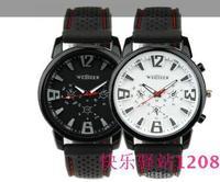 Hot weijer fashion army military aviator aviator style watch silicone watch outdoor sports watch10pcs/lot