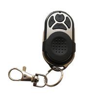 PB-433R Wireless Keychain Remote Control Home Alarm Keyfobs w Slide Cover Metal Material BLACK