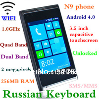HOT New Arrival 3.5 inch Capacitive Touch Screen N9 Mini 920 Android 4.0 256RAM 1G Dual SIM WIFI Smart Phone
