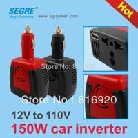 Инвертирующий усилитель мощности SEGRE 150w dc ac 12 110v usb 2.1a