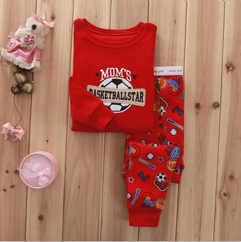 2013 NEW 1PCS children clothing sets light pink princess full sleeves baby girls clothing Brand cotton pajamas RF04