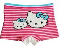 Spring and summer 100% cotton Hello kitty girl panties children boxer briefs baby girl underwear kid shorts