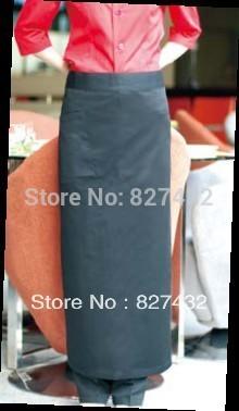 Long Size Black Color White Color Poly Cotton Cloth Waist Apron(China (Mainland))