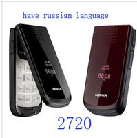 Free shipping Wholesale 2720 ,unlocked new mobile phone 2720 original
