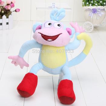 "BOOTS 1pcs  10"" Dora the Explorer The Monkey Plush Dolls Soft Toy Dora plush"