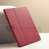 Hot Sale 4 Shapes Leather Case for ipad 2/4/3 Smart Cover Wake Sleep with Stand Magnetic slim, PU Leather Cover Case For iPad 2