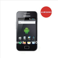 Free shipping original Galaxy Ace S5830 3.5 inch 3.0MP Android 2.3.6 CPU 2G Free mobile phone case