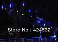 Free Shipping Multi Color LED Meteor Shower Rain Tube Lights Outdoor Tree