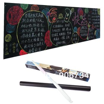 New Arrival PVC A4 Size Weekly Planner Blackboard Sticker Memo Free Shipping