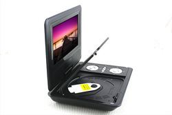 "CHIC! 7.8"" TFT LCD Srceen Portable DVD EVD Player with TV Player Card Reader New(China (Mainland))"