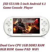 JXD S5110B 5-inch Android 4.1 Game Consoles 1.5GHz Dual Core CPU 1GB DDR3 RAM 8GB ROM The King Of Game Console Game Pad