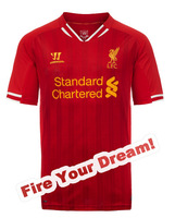 NEW! liverpool,liverpool fc,Free Shipping, 2013/14 Liverpool Home/Away Kit, liverpool soccer jersey, liverpoll jersey