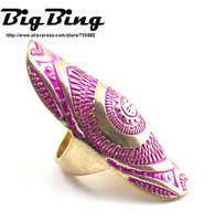 BigBing Fashion  fashion jewelry sun god gold powder ring   free shipping  J421