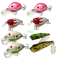 On Sale 8pcs high quality fishing hard lures/baits OSML04