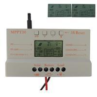 2014 30A MPPT LCD Solar Charge Controller 12V/24V 380W/760W Solar Panel Regulator Auto Work,Hot Sale