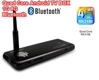 Turn TV to PC : CX-919 RK3188 Quad Core  Android TV Stick BOX 1GB RAM 8GB ROM Bluetooth 1080P MINI PC External WIFI Antenna XBMC