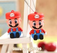 UFD0107 wholesale&retail freeshipping lovely Super Mario Bros USB Flash Drive hotsale USB Flash Disk drive 2GB-64GB