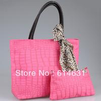 Fashion spring 2014 women handbag candy color,free shipping 32*28*13 cm,PU bags,girls bag,scarf gift,retail wholesale