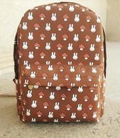 Women Brand Animal Designer School Backpack High Quality Canvas Hiking Knapsack Free Shipping Fashion Travel Rucksacks