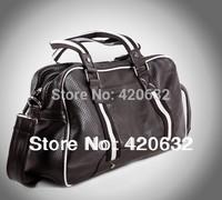 new 2014 men's fashion bag male Casual sport totes bags handbag black boy classic PU messenger travel bag hot 1 piece retail top
