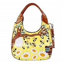 2013 New TB Women Designers Brand Handbags Honey Bee Vintage Casual Female All-match Female Shoulder Bags Lady Bolsas