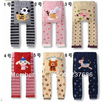 Wholesale BUSHA Toddler Boys Girls Baby Legging Tights Leg Warmer Socks Pants PP Pants2pc/lot