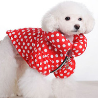 Free Shipping 2013 Lefdy New Pet dog clothes Winter jacket Dog warm jacket clothes