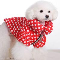 Free Shipping 2014 Lefdy New Pet dog clothes Winter jacket Dog warm jacket clothes
