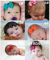 "2013 Hot Sale  2"" Bow Size Infant Headband, the Latest Style Boutique Infant Hair Accessories,Wholesale 125pc/lot Free Shipping"