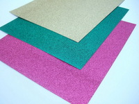 "Free shipping , Handmade 12*12"" glitter paper for father's day festival card and decoration"