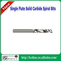"single flute spiral bits for cnc router 1/8""mm(3.175mm)"