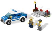 2013 new designed boy  toys city  building blocks police toy patrol car cruiser christmas gift for  boy birthday gift to boy