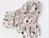 S204 lipstick high-heeled shoes bow scarf long design  women long  scarf