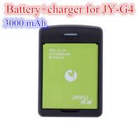 100 Original Charger+Battery for JUAYU G4 Smart Phone Li-pol Batteries