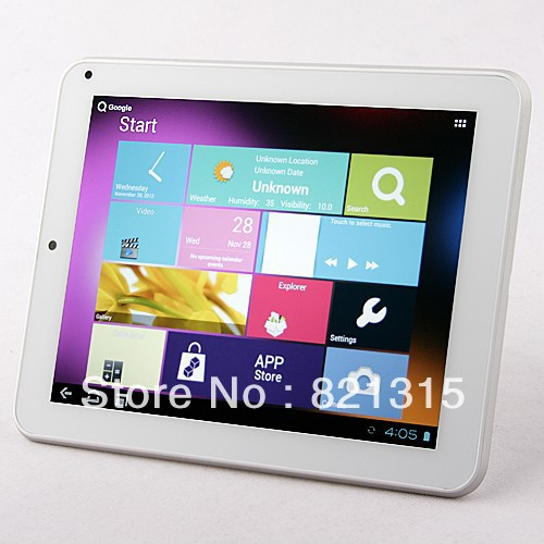 freeshipping Cube U9GT3 CHERRY 8 Inch Tablet PC android4 1 dual core front camera build in