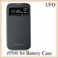 UFO Retail  3200mAh  Power Bank Case Backup Battery Case With Flip and Kick-stand  for Samsung Galaxy i9500 S4
