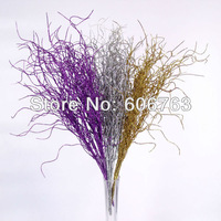 Christmas ornaments/Artificial flowers bear leaves foliage  crystal! Bling Artificial Foliage Crystal  artificial plants
