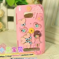 Free shipping For nokia 710 phone case For nikia lumia 710 protective case mobile phone case for nokia cartoon shell