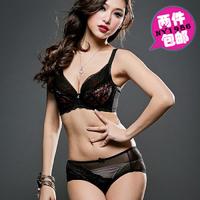 Freeshipping women's sexy lace big size bra set underwear set plus size bra and panty set large cup bra set 38C 38D 40B 40C 40D