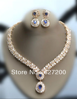Free Shipping The bride wedding, banquet ,party  jewelry set necklace , earrings