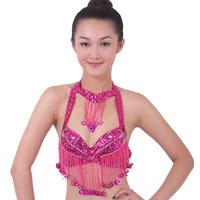 2014 dance tops crop/cropped women Belly dance clothes indian dance costume leotard belly dance top bra