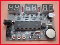 Ds18b20 ds1302 digital clock kit mcu electronic clock kit