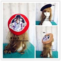 New Fashion Winter Wool Warm Women Beret Beanie Hat Cap Hot 3Color Red Black Brown skullies hats