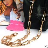 (Min. Order 10 $  )Handmade Venice Chain Necklace,Fashion Jewelry Cross Mix ,Free Shipping
