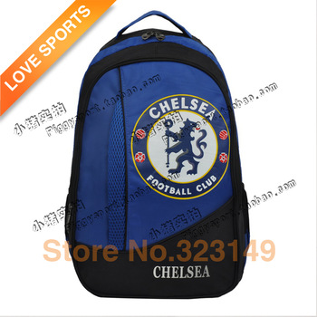 Free Shipping Football fans supplies chelsea backpack for school , children backpack ,backpack laptop-3AA041