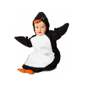 Cute Infants Baby Penguin Warm Swaddle Baby Sleeping Bag 2 Sizes children's nightwear