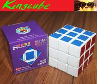 New ShengShou Aurora 3x3 speed White  SS jiguang Speed cube 3x3x3